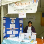 Sevathon Booth attended by mySahana Volunteer