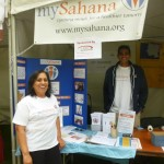Sevathon Booth attended by mySahana Volunteers